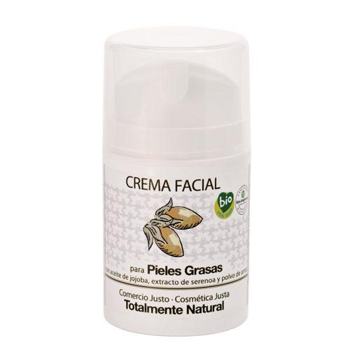 crema facial pieles grasas