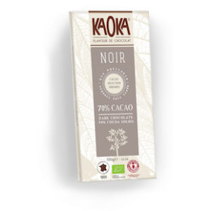 tableta de chocolate kaoka 70%