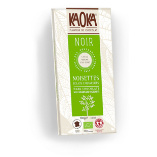Tableta de chocolate Kaoka avellanas