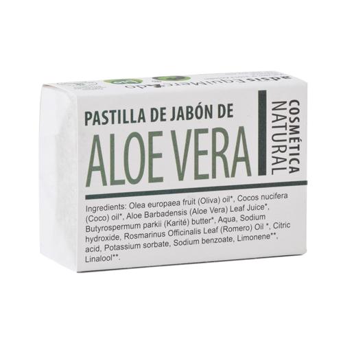 Pastilla de jabón de Aloe Vera