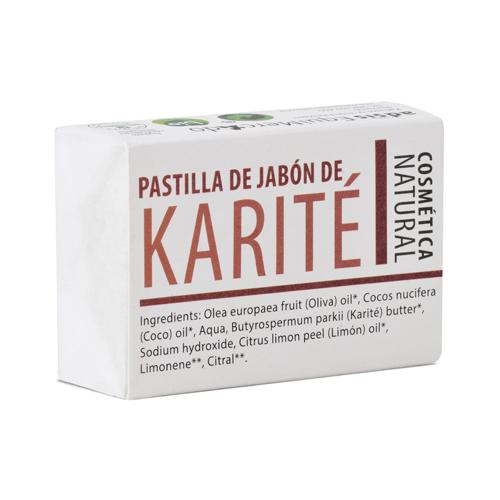 Pastilla de jabón de Karité