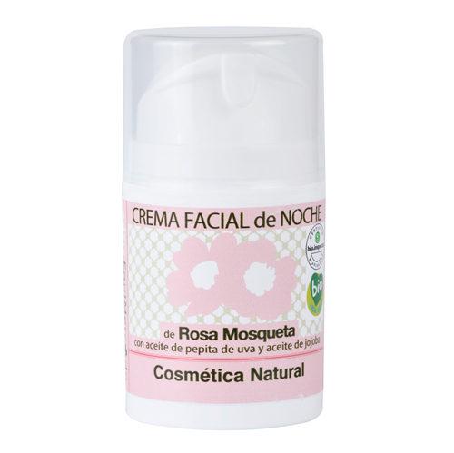 Crema facial de noche de Rosa Mosqueta