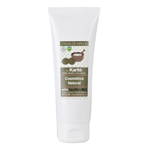 Crema de manos de Karité