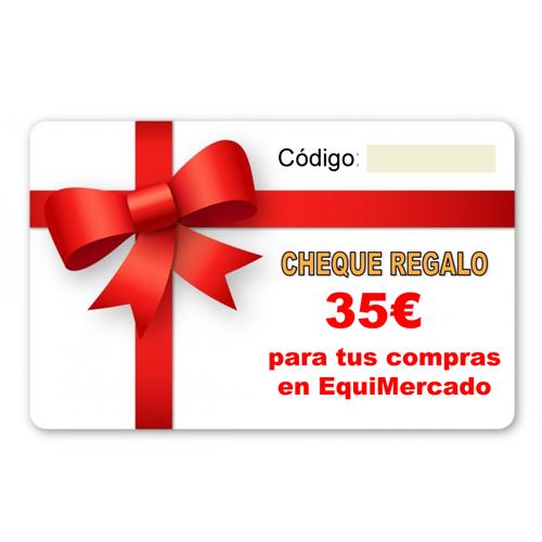 Regalos solidarios cheque 35€