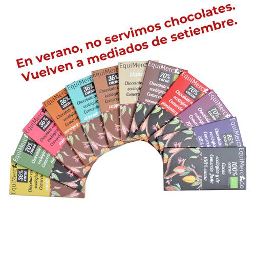 Chocolate EquiMercado ecológico