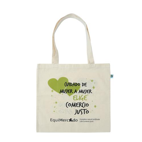Bolsa algodón orgánico y de Comercio Justo